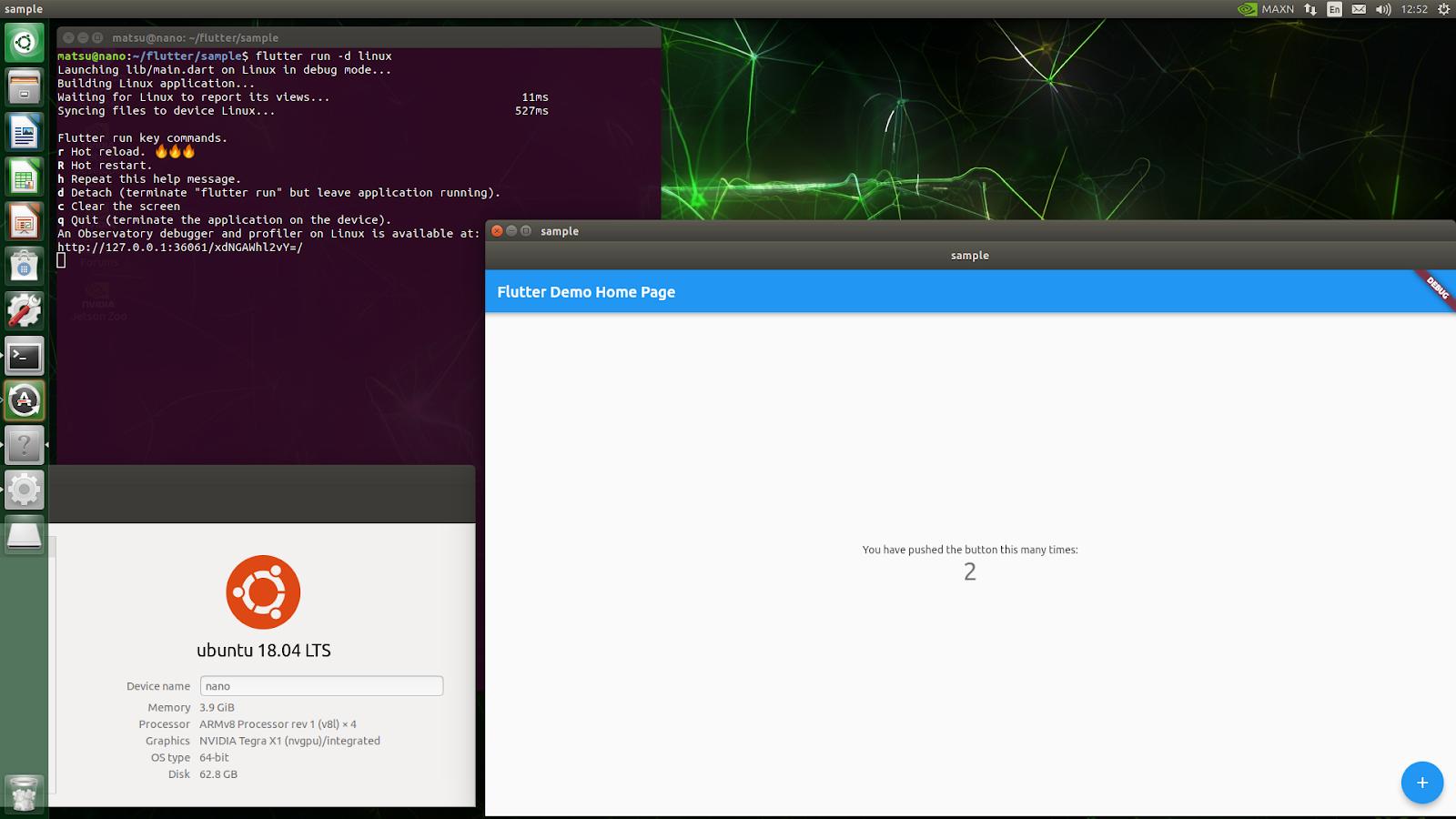 在 ARM64 Linux 机器上运行您喜爱的 Flutter 应用