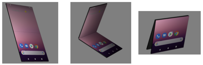 △ DisplayFeature 可能的状态: 完全展开、半开、翻转